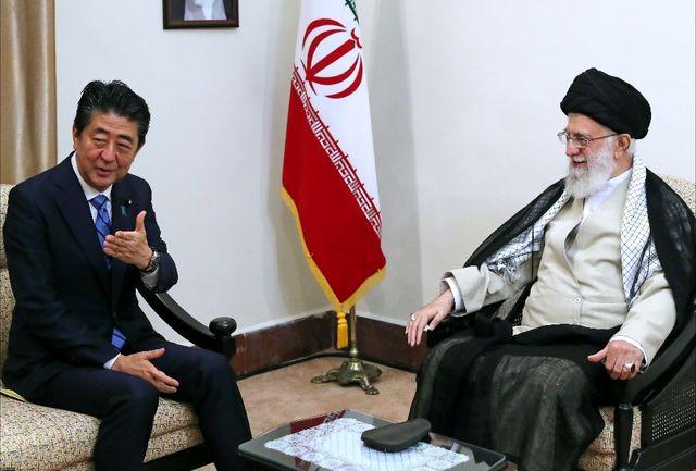 واکنش مثبت ژاپن پس از دیدار آبه با رهبری