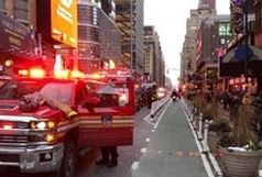 وقوع انفجار در متروی منهتن آمریکا