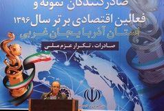 لازمه توسعه صادرات در آذربایجان غربی ورود به سازمان تجارت جهانی است