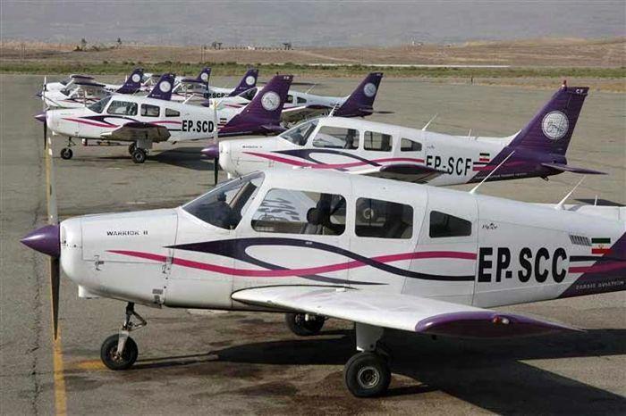 پیشگام توسعه آموزش خلبانی در کشور هستیم/انجام 80 پرواز روزانه آموزشی