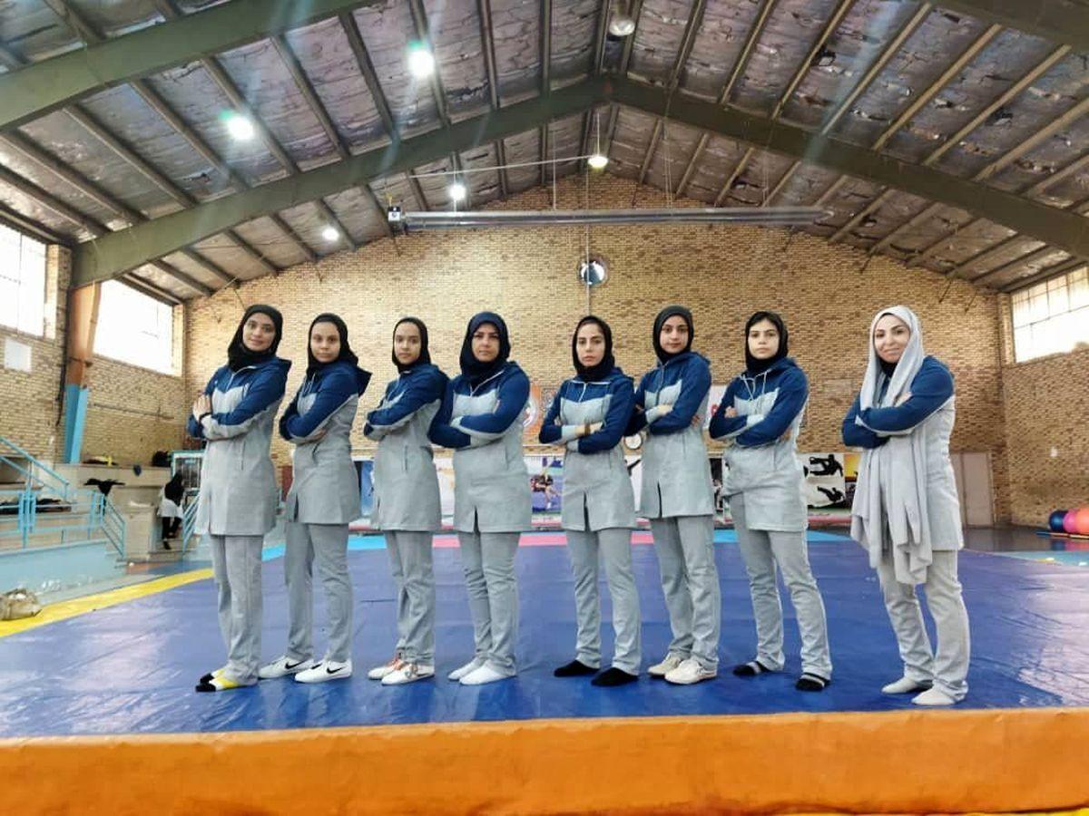 اعزام دختران ووشو قم به مسابقات انتخابی تیم ملی