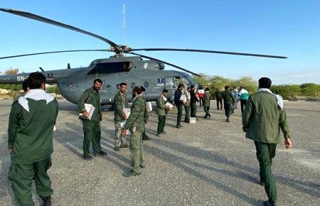 امدادرسانی نیروی دریایی سپاه به سیلزدگان جنوبشرق کشور/ حضور سردار تنگسیری در جاسک