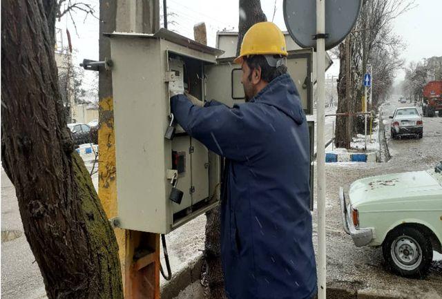 پنجمین اقدام فراگیر تعمیرات و بهینه سازی شبکه های توزیع برق در قزوین برگزار شد