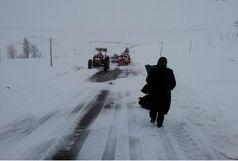 راهداران 2 مادر باردار را از دامان برف نجات دادند