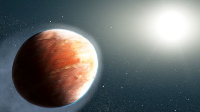 کشف سیاره ای داغ در نزدیکی زمین با بخار فلزات سنگین در جو آن