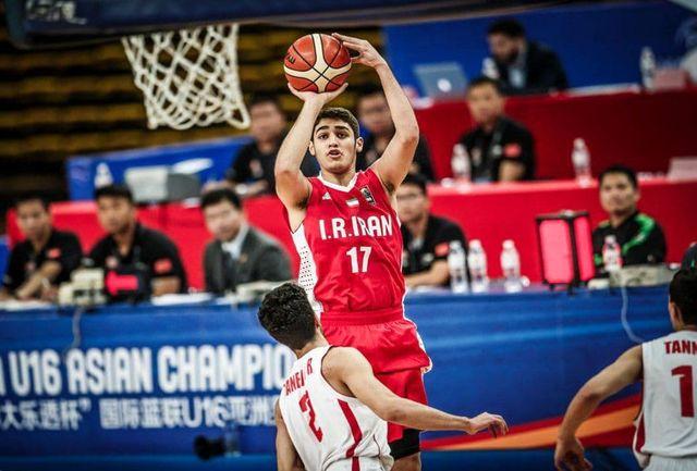 معرفی رقیبان ایران در جام جهانی بسکتبال جوانان