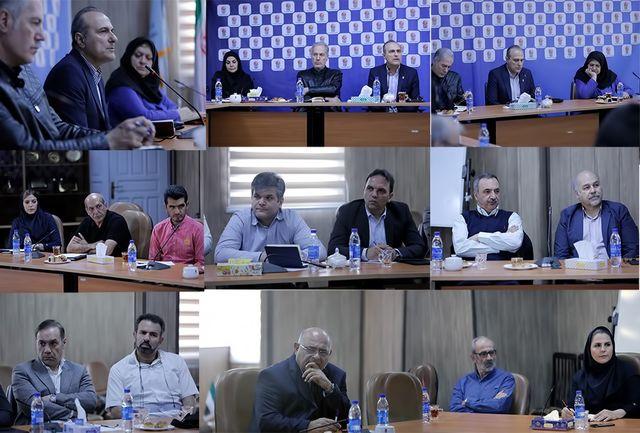 جلسه شورای مدیران فدراسیون بسکتبال برگزار شد