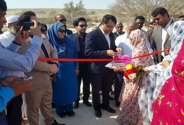 افتتاح مدرسه علوی روستای دوربنی جزیره قشم