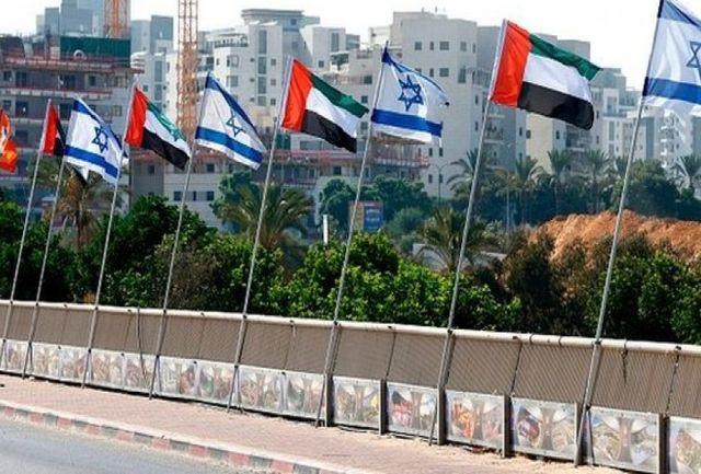 استقبال باشکوه نتانیاهو از هیأت اماراتی