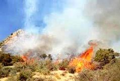 اعزام بالگردهای امدادی برای مهار آتشسوزی در  فیروزآباد
