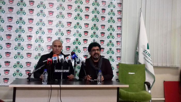 یک اصفهان مقابل پرسپولیس است/ محمدرضا خلعتبری  را در بازی فردا خواهیم داشت