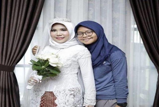 این عروسی عجیب داماد ندارد+ عکس