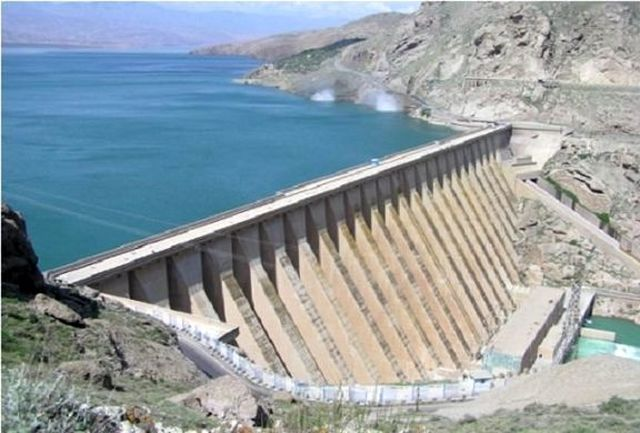 رهاسازی آب سد سپیدرود برای آبیاری شالیزارها