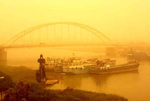 بدترین شرایط گرد و غبار خوزستان برای سه سال متوالی