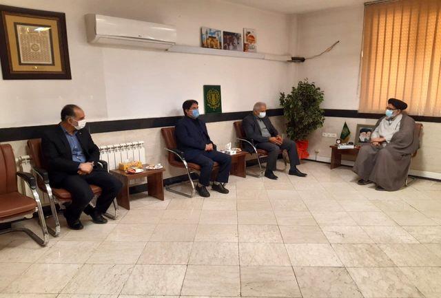 مدیرکل ورزش و جوانان استان تهران با امام جمعه شهرستان ورامین دیدار کرد