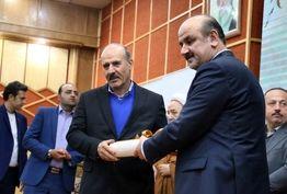 مراسم معارفه علی صفری به عنوان شهردار قزوین برگزار شد