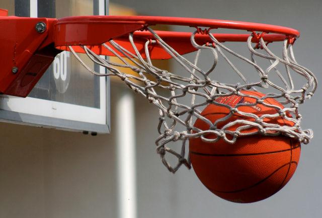 مسابقات بسکتبال خیابانی دختران نونهال برگزار شد