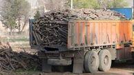 16 تن چوب قاچاق در سروآباد کشف شد