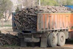 کشف 10 تن چوب قاچاق در خنج
