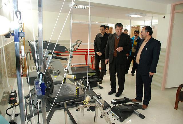 افتتاح اولین مرکز فیزیوتراپی ورزشی در خراسان شمالی در ایام دهه مبارک فجر