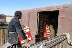 صادرات خرما از طریق راه آهن زاهدان - کویته