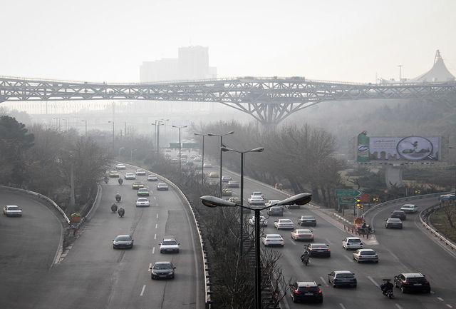 هشدار؛ آلودگی خطرناک هوای تهران و۳استان دیگر