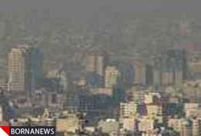 هوای پایتخت ناسالم برای گروههای حساس جامعه