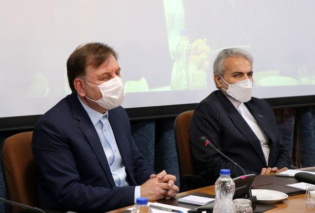 برگزاری نشست استاندار و مجمع نمایندگان گیلان با رئیس سازمان برنامه و بودجه کشور