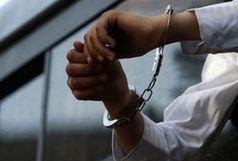دستگیری عامل ایجاد مزاحمت در