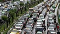وضعیت ترافیکی معابر بزرگراهی پایتخت