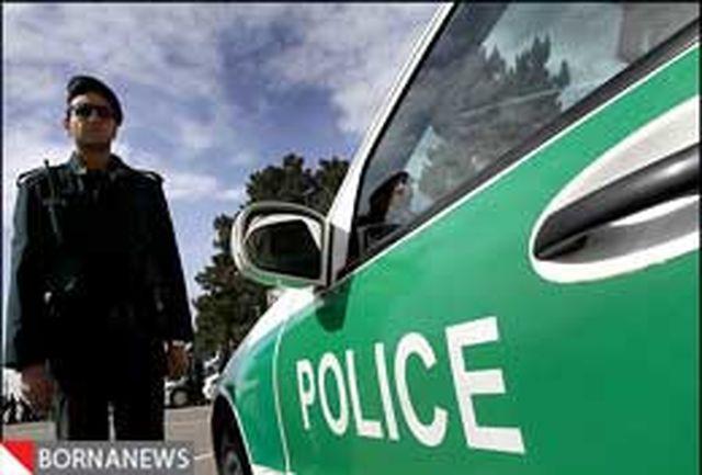 استقرار گشتهای پلیس در میادین اصلی شهر به منظور امدادرسانی