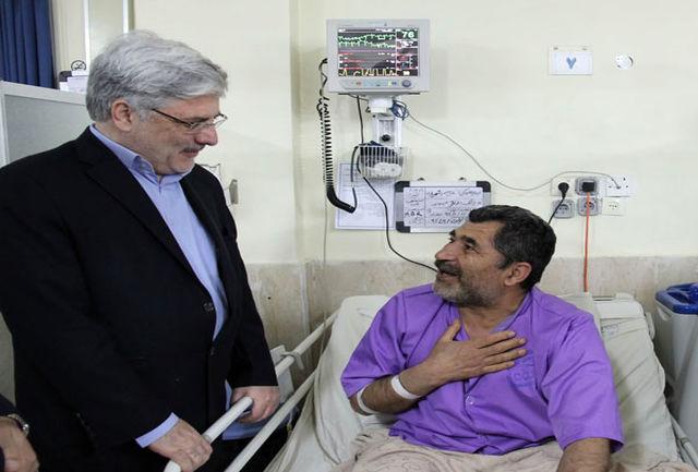 بازدید مدیرعامل سازمان تامین اجتماعی از بیمارستان شهید دکتر لواسانی
