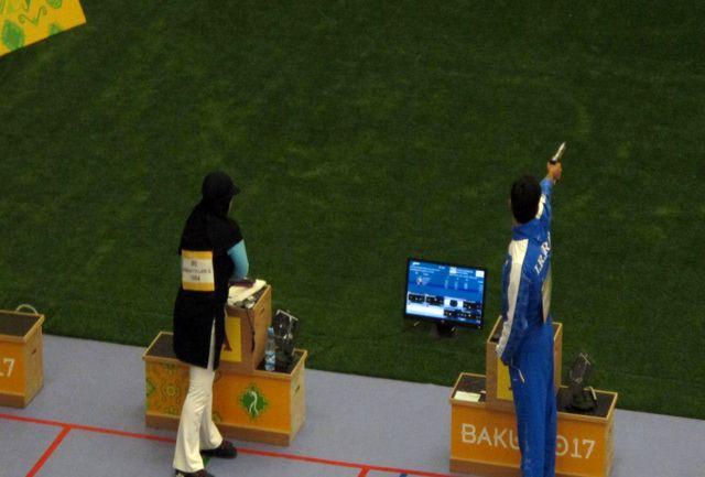 صعود سبقت الهی و احمدی به رده بندی 10 متر تپانچه بادی میکس
