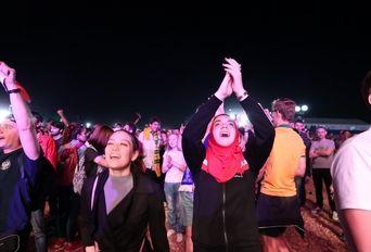 فن فست تمام ایرانی در کازان قبل از بازی اسپانیا- 2