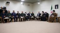 دیدار اعضای ستاد کنگره دو هزار شهید استان بوشهر با رهبر معظم انقلاب