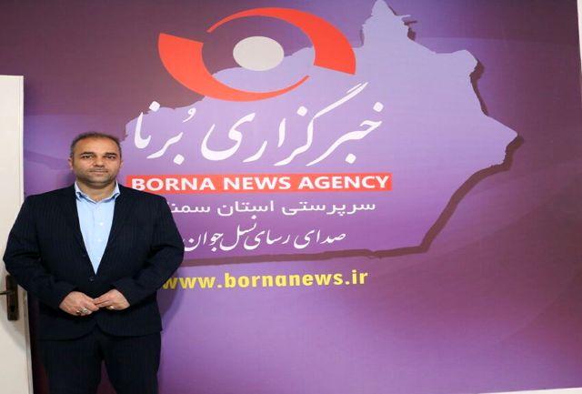 مدیرکل ورزش و جوانان از خانه جوانان  و دفتر خبرگزاری برنا سمنان بازدید کرد