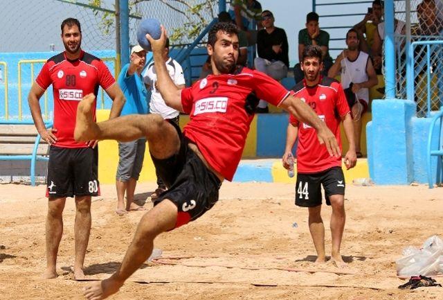 دو بازیکن خمینیشهری در تیم ملی هندبال ساحلی