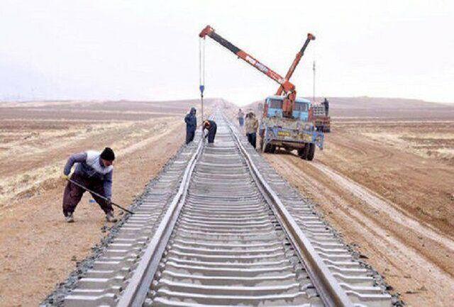 راه آهن جوین اسفراین ۷۰ درصد پیشرفت فیزیکی دارد