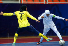 برد شیرین تیم فوتسال بانوان نامینو مقابل پارس آرای شیراز