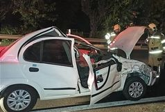 ۲ فوتی و مصدوم در حادثه واژگونی خودرو تیبا