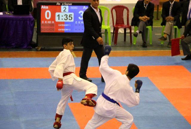 شروع مقتدرانه کاراته کاهای قمی در لیگ برتر کشور