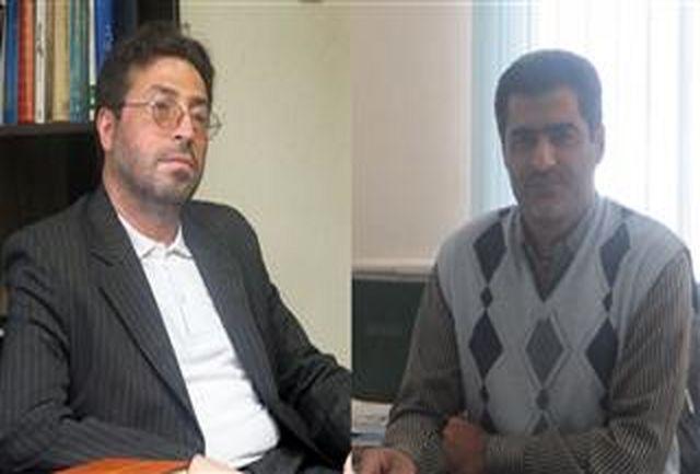 نشست سرپرست حوزه هنری و مسوول ناحیه بسیج دانشجویی استان سمنان