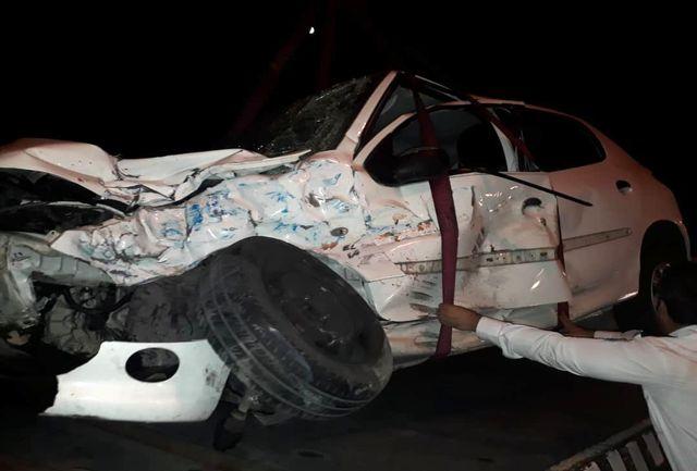 مرگ راننده  نیسان وانت نزدیک پل ستاری / ببینید