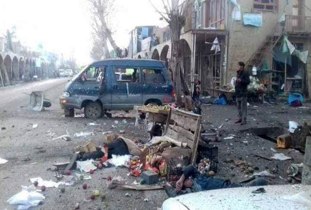 انفجار در بامیان افغانستان 17 کشته بر جای گذاشت