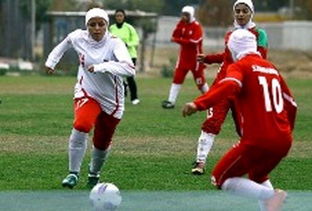 شکست همیاری شهرداری ارومیه در پالایش گاز ایلام در لیگ فوتبال بانوان
