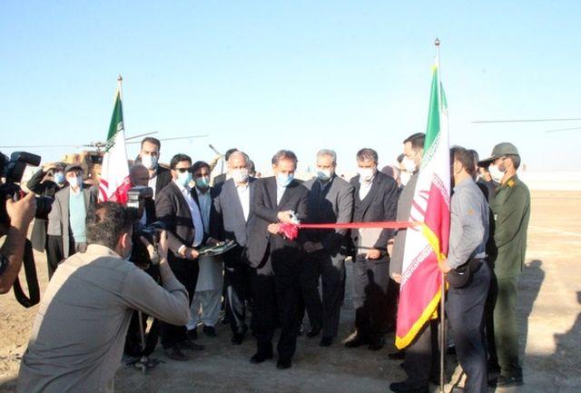 افتتاح فاز نخست بندر صیادی تنگ کنارک توسط معاون اول رییس جمهوری
