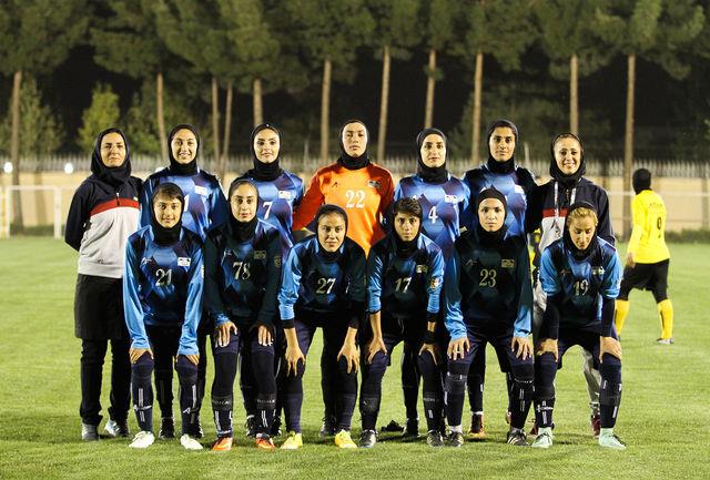 بانوان همیاری در لیگ برتر فوتبال گلباران شدند