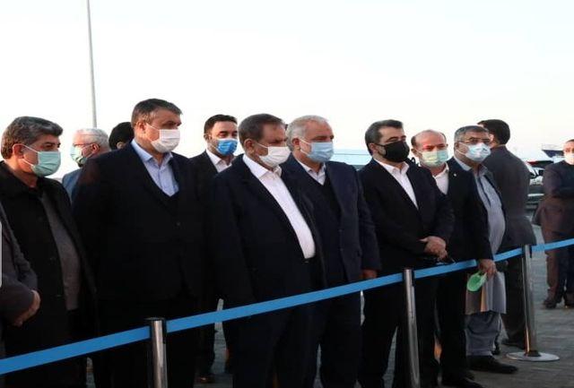 بازدید معاون اول رییس جمهور از بندر شهید بهشتی چابهار