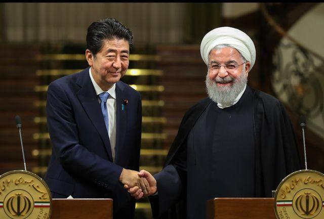 روحانی: اراده و علاقه ژاپن به ادامه خرید نفت از ایران توسعه روابط را تضمین می کند/ آغازگر هیچ جنگی حتی با آمریکا نخواهیم بود/ آبه شینزو: احترام خاصی به فتوای رهبر ایران قایل هستم/ اراده ژاپن توسعه روابط و همکاری با ایران است