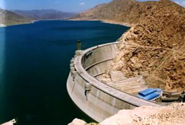 حجم آب سد الغدیر به بالاترین مقدار خود در 7 سال اخیر رسید
